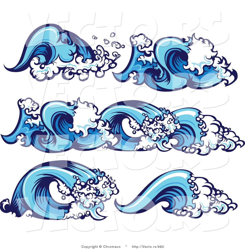 Water Waves Cartoon Images