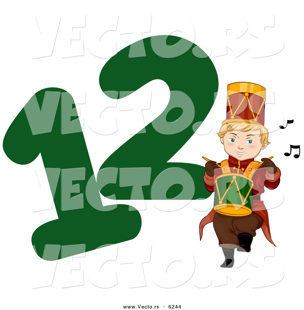 Royalty Free Twelve Days Of Christmas Illustrations