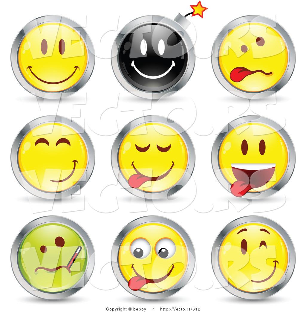 Funny Smiley Face Clip Art
