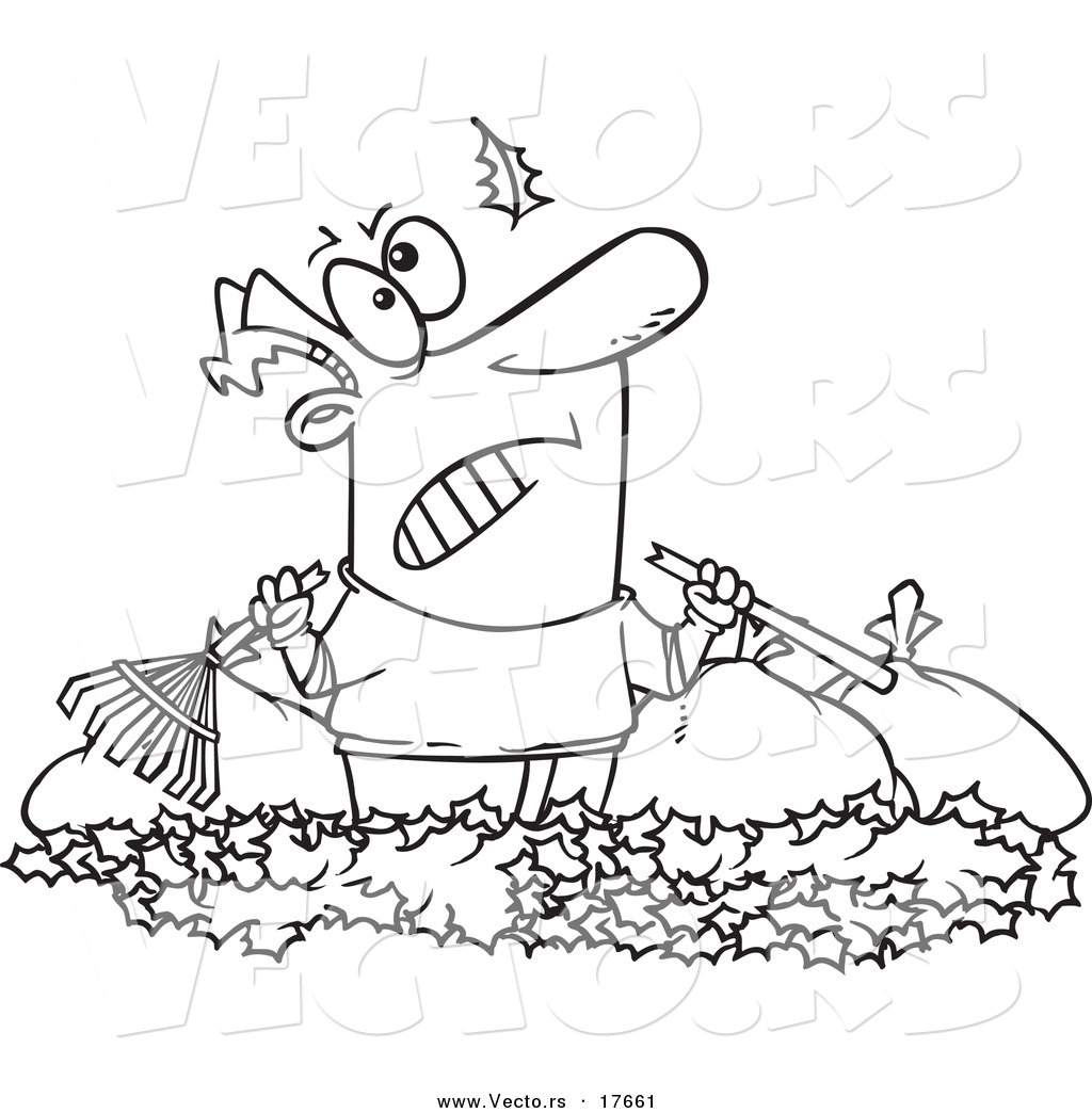 yard work coloring pages - photo#35