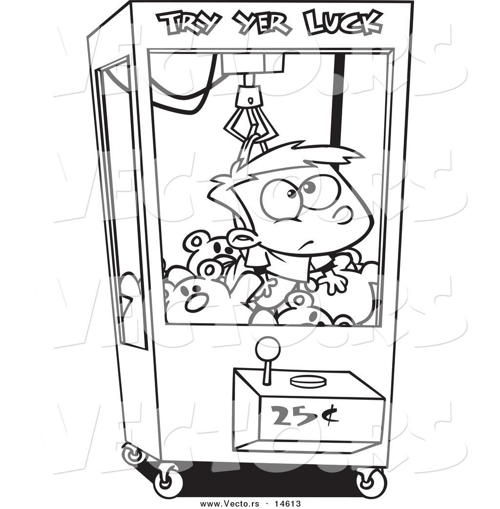 how to draw arcade game cartoons