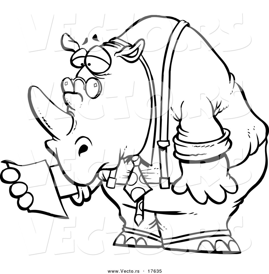 New 10 Printable Rhino Coloring Pages 2018 | Kate Coloring Pages