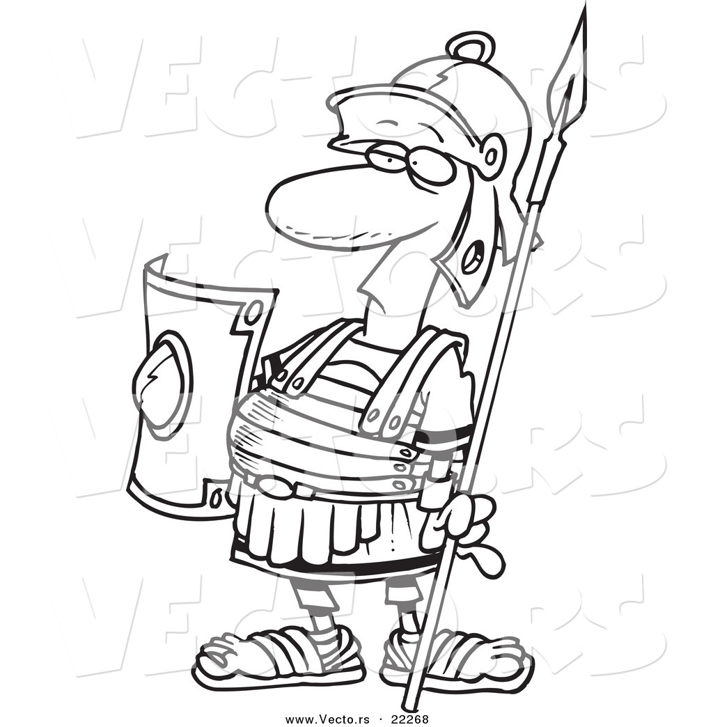 Color Guard Coloring Pages Outlined Coloring Page