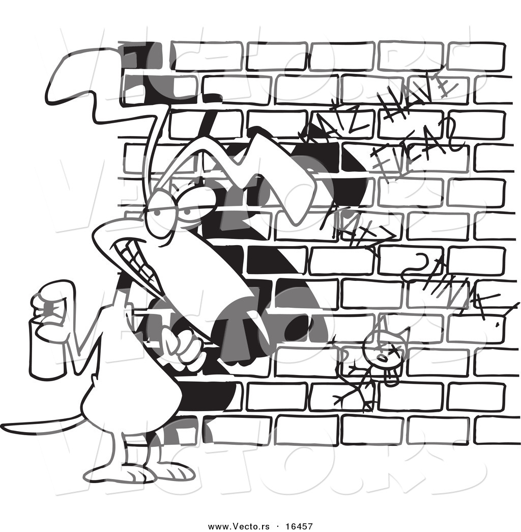 Graffiti Spray Can Coloring Pages