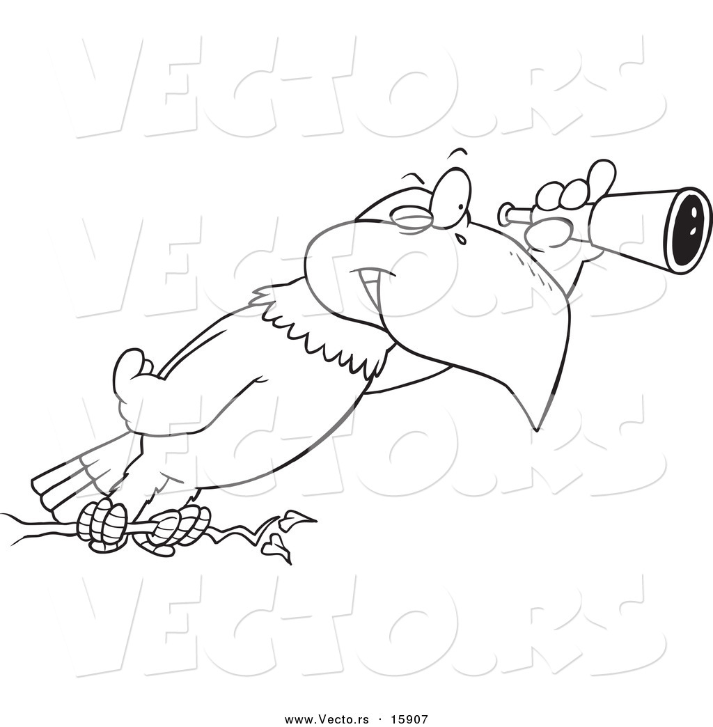 eagle cartoon coloring pages - photo #35