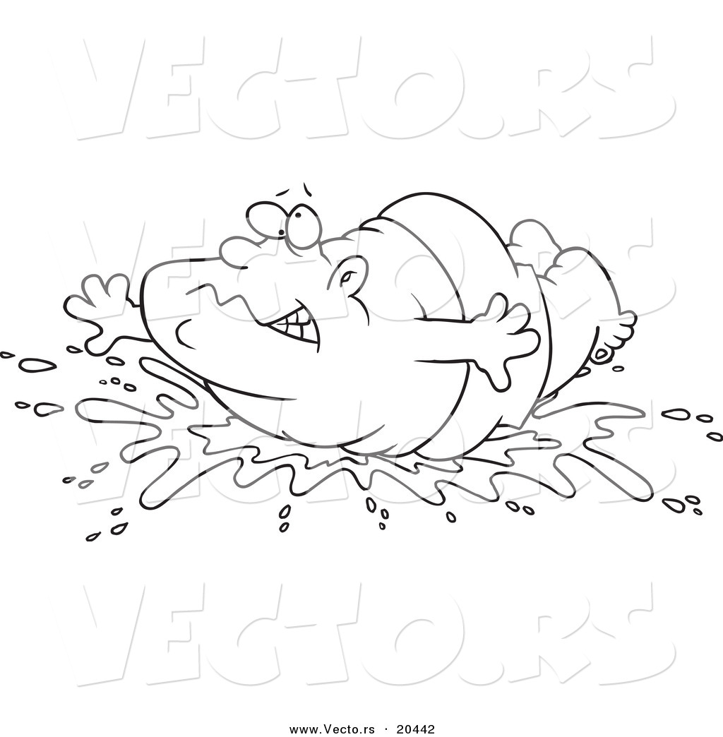 water splash coloring pages - photo#4