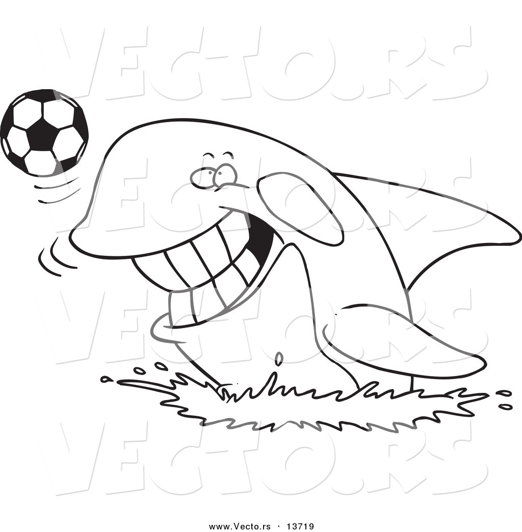 Adult Top Orca Coloring Pages Gallery Images cute vector of a cartoon orca playing with soccer ball coloring page outline gallery images