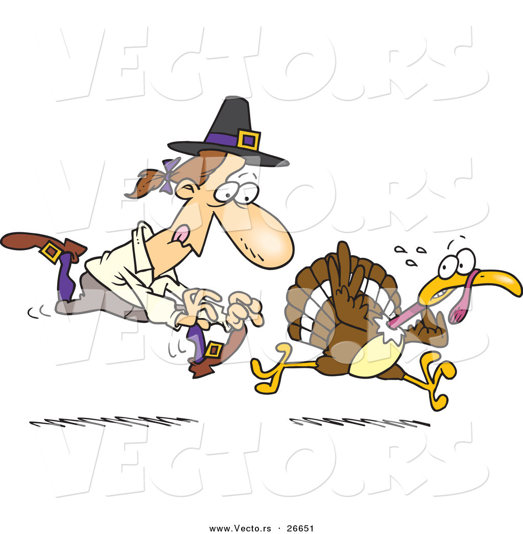 Running Turkey Clip Art http://vecto.rs/design/vector-of-a-cartoon-pilgrim-man-running-after-a-turkey-by-ron-leishman-26651