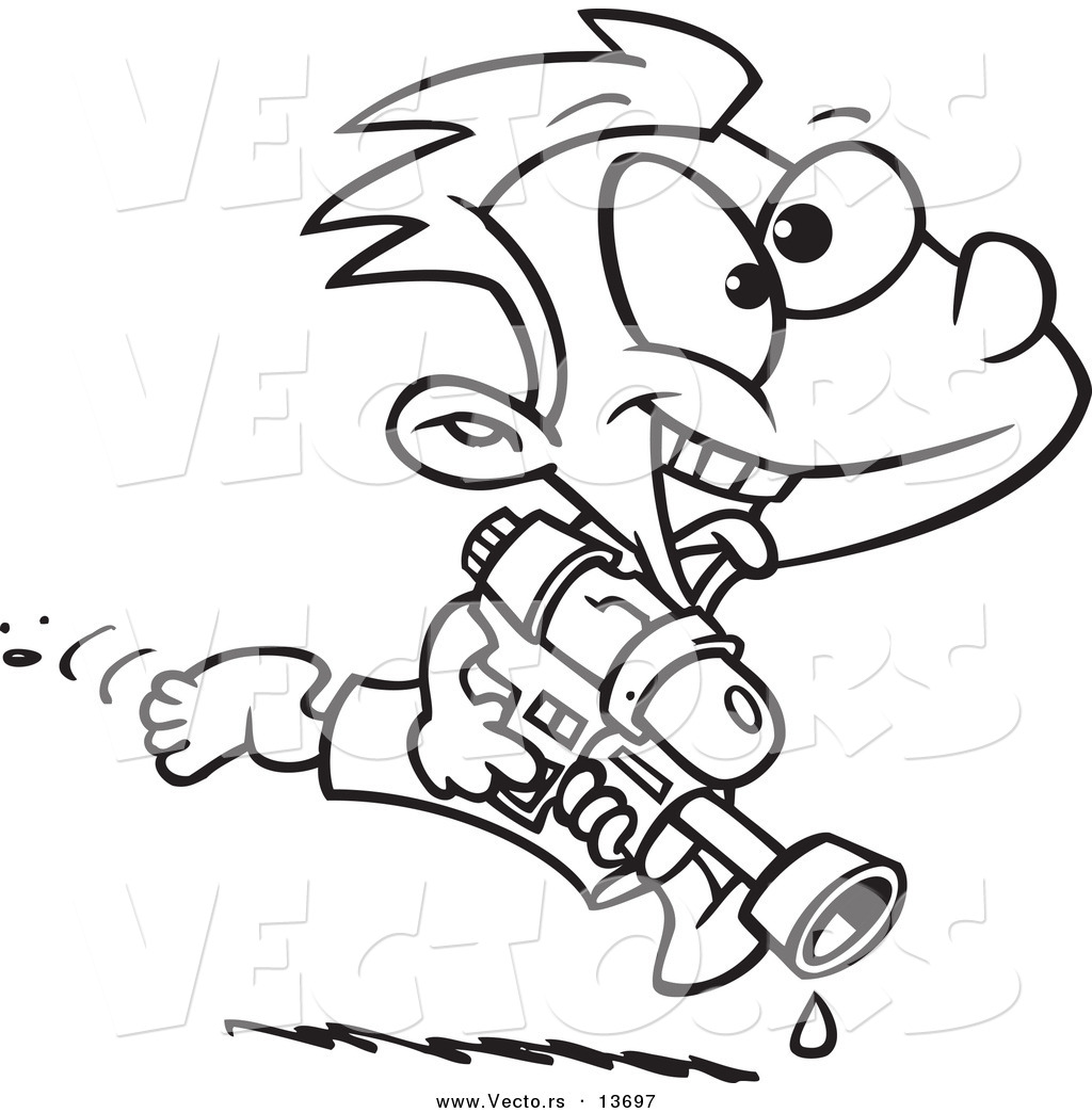 Awesome Taser Gun Cartoon Coloring Pages Ideas - Triamterene.us ...