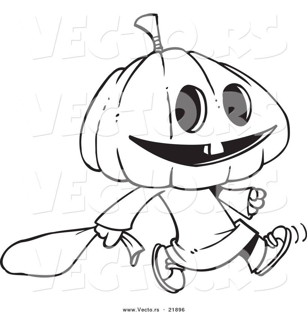 cartoon pumpkins coloring pages - photo#15
