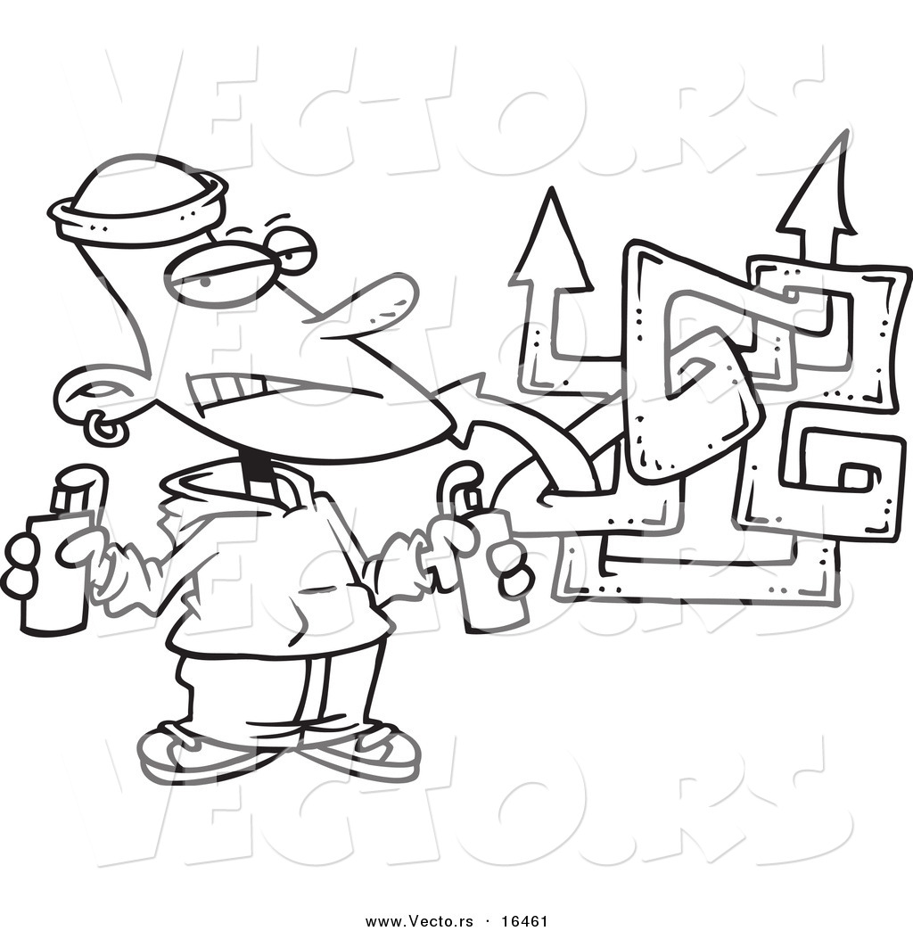 spray paint coloring pages-#8