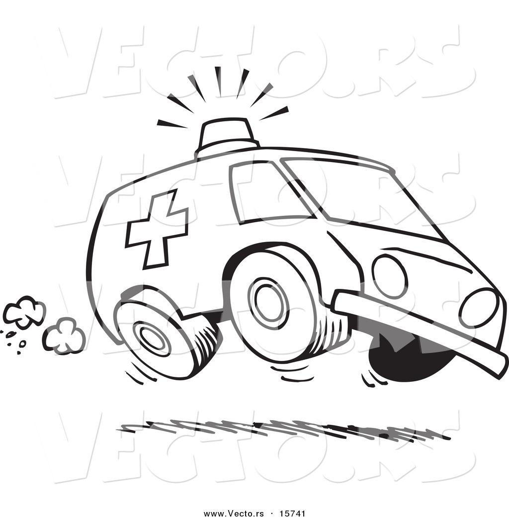 Ambulance Siren Cartoon