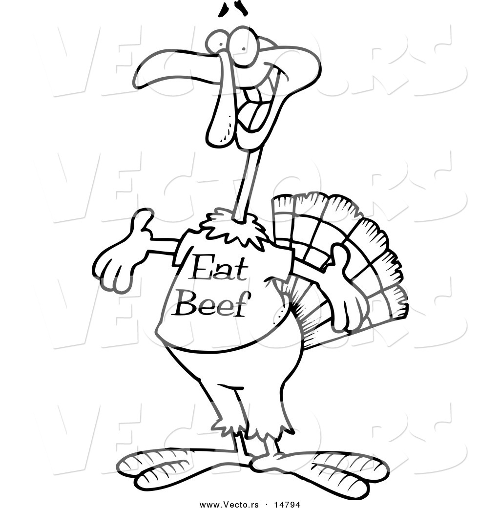 Beef Coloring Page