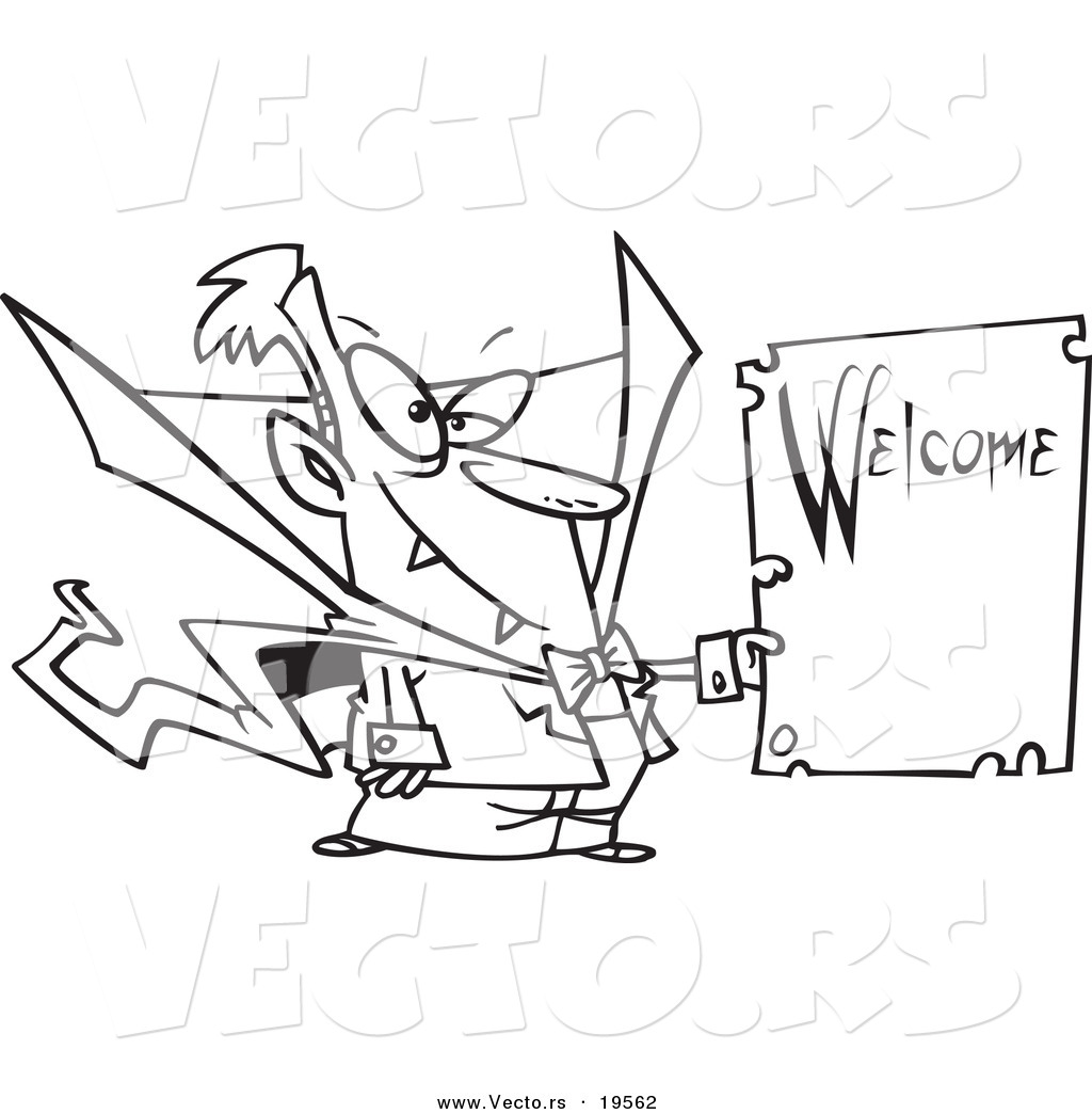 welcome sign coloring pages - photo#12