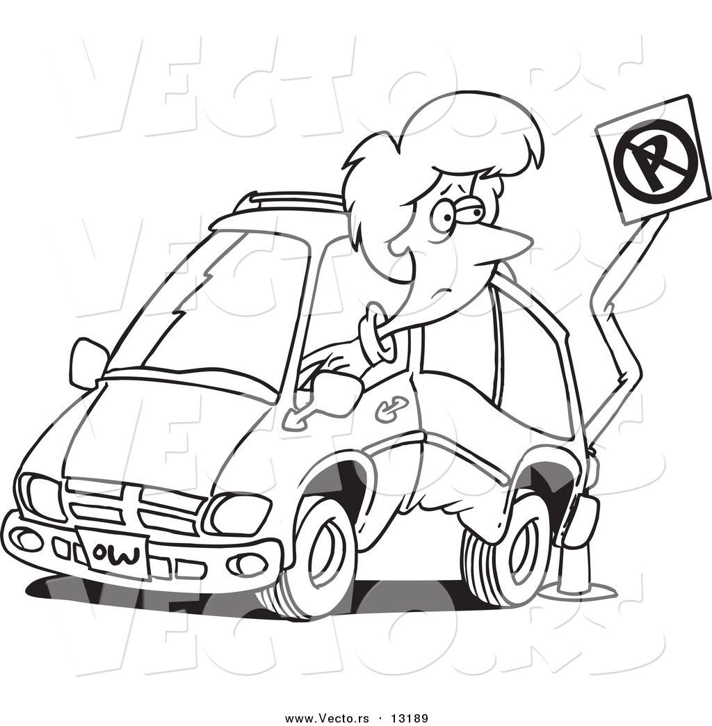 Coloring car crash into tree coloring pages for Car crash coloring pages