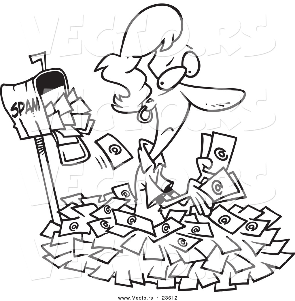 mail carrier cartoons