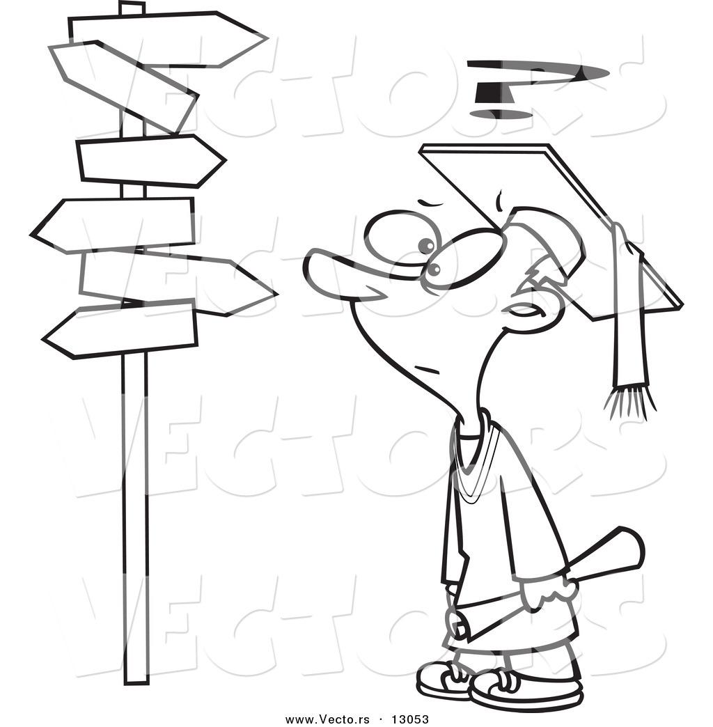 Coloring pages graduation - Graduation Cap Coloring Pages Printable 7