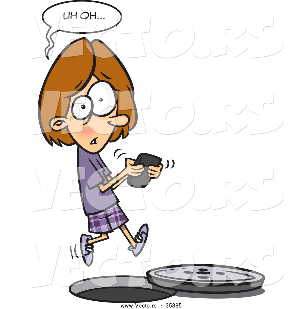 girl texting clipart - photo #26