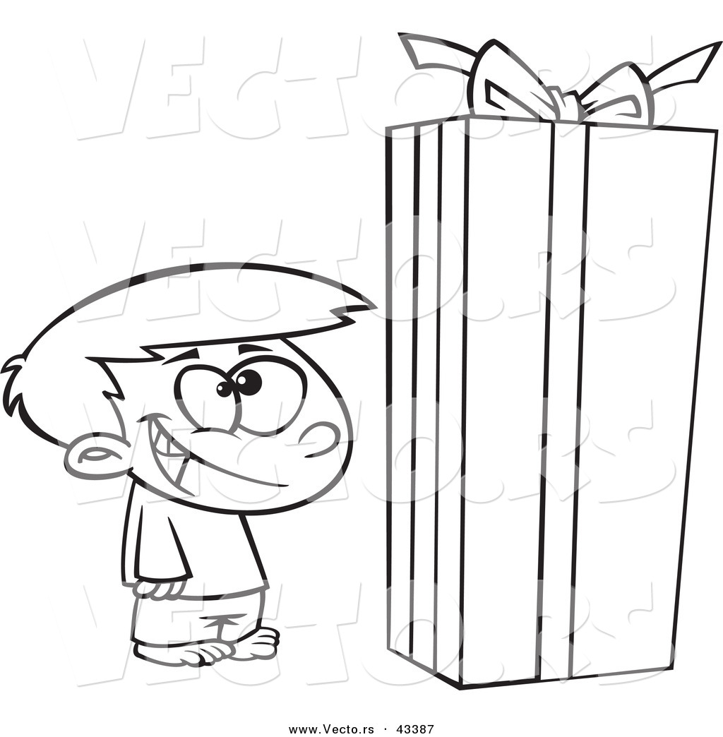 Christmas Box Coloring Pages Christmas Gift Box Coloring
