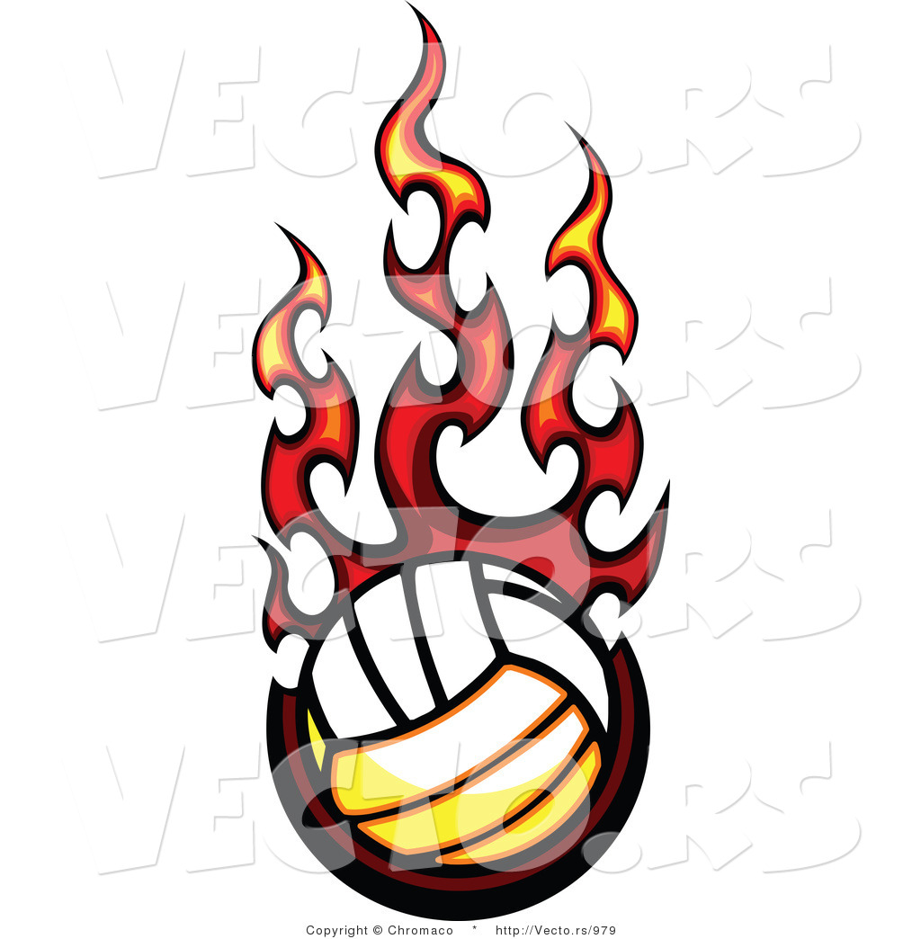 Clipart Of Volleyball