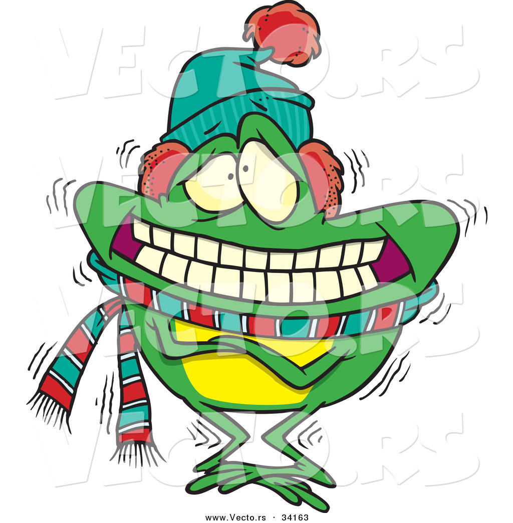 Image result for frogs in the winter cartoon