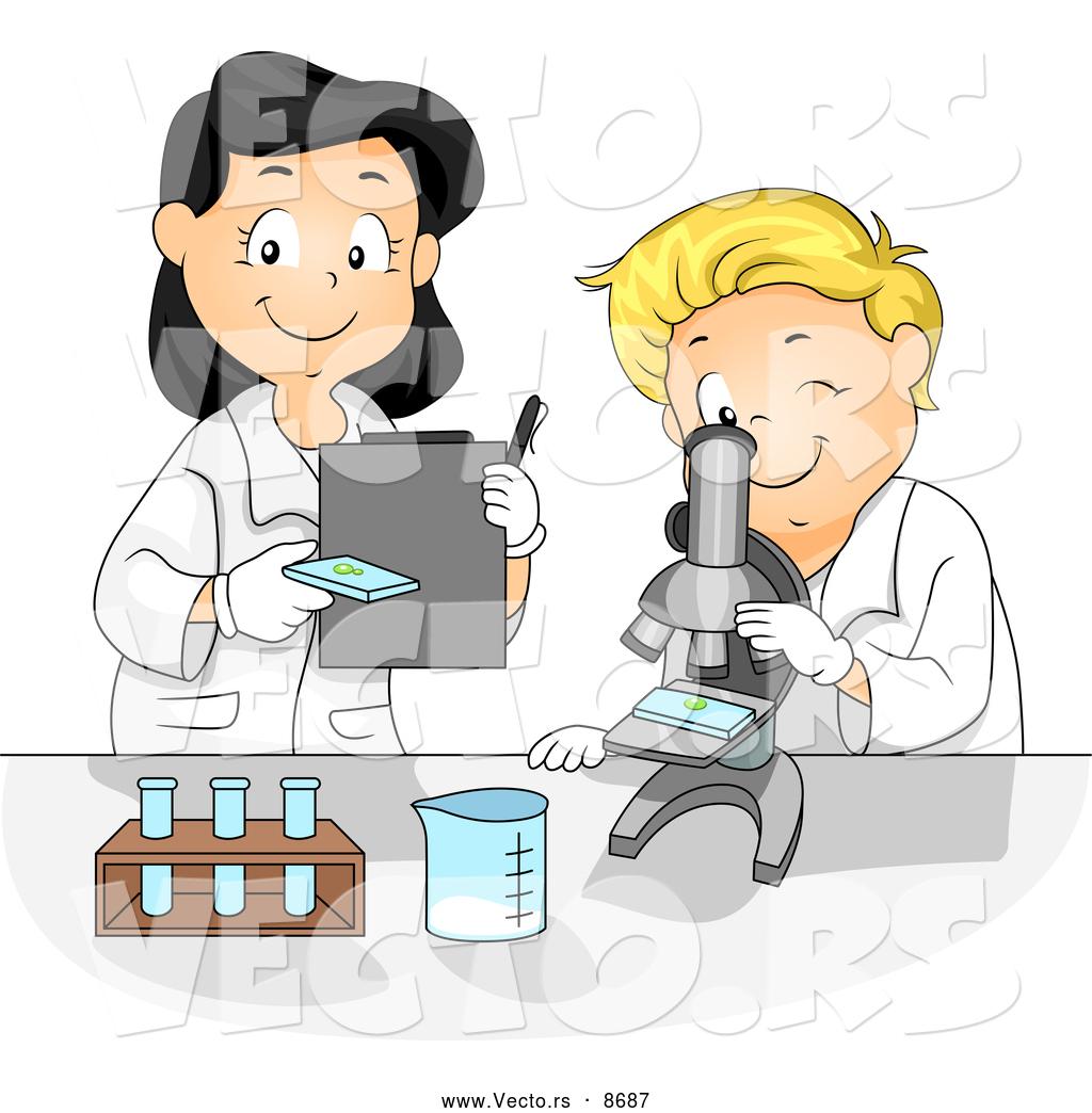 Female Science Teacher Clipart and Female Teacher Viewing