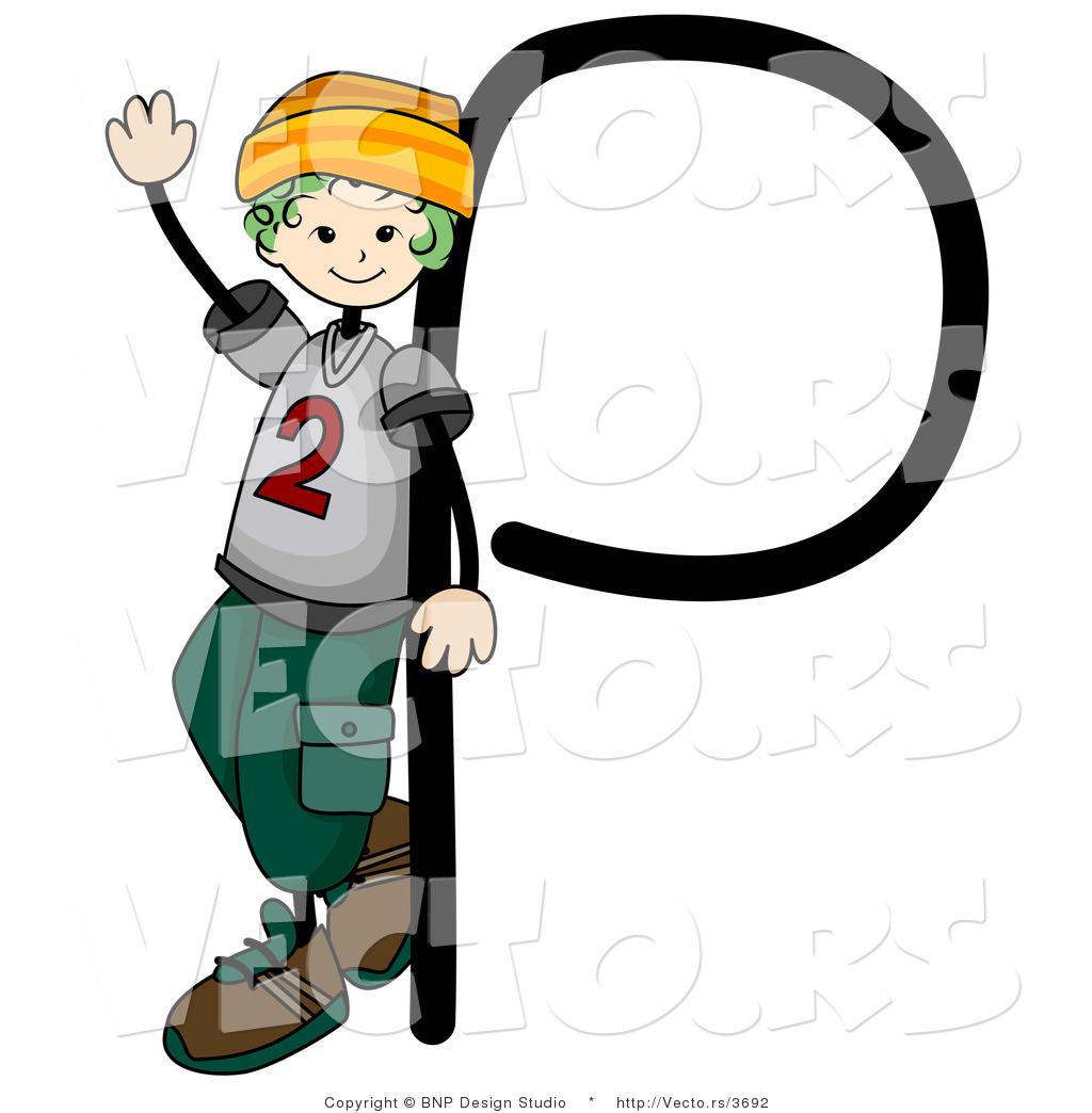 P Alphabet Design Vector of an Alphabet Letter P
