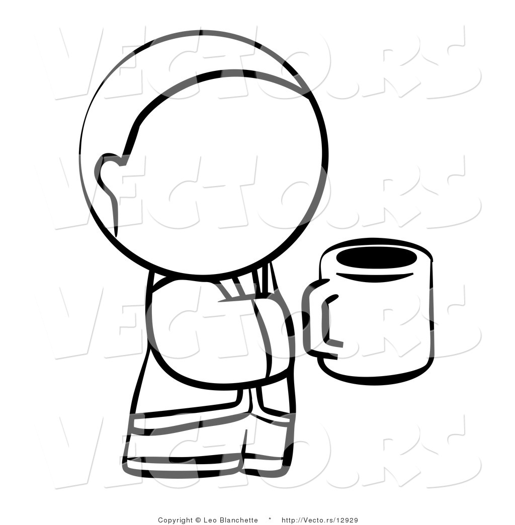 Cartoon Hand Holding Cup Royalty free culture stock