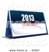 Vector of a 2013 Calendar by Leonid