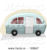 Vector of a Camper Trailer by BNP Design Studio