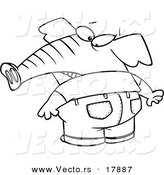 Butt coloring pages ~ Royalty Free Elephant Stock Designs