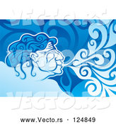 Vector of Aeolus Blowing Wind by Any Vector