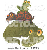 Vector of Alligator by John Schwegel