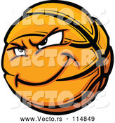 Vector of Basketball Mascot by Chromaco