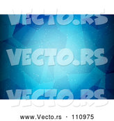 Vector of Blue Abstract Low Poly Geometric Background by KJ Pargeter