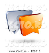 March 21st, 2018: Vector of Blue Speech Balloon by Beboy