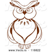 Vector of Brown Owl 6 by Vector Tradition SM
