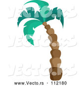 March 28th, 2018: Vector of Cartoon Tall Palm Tree by Visekart