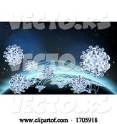 Vector of Coronavirus Virus Cell Global Pandemic World by AtStockIllustration