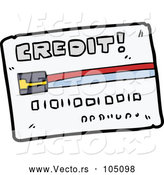 Vector of Credit Card by Lineartestpilot