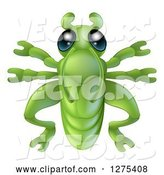 Vector of Cute Grasshopper Bug by AtStockIllustration
