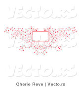 Vector of Decorative Pink Vines Background Frame Design by Cherie Reve