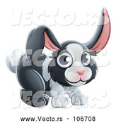 Vector of Dutch Bunny Rabbit by AtStockIllustration