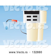 Vector of Gasoline Pump at a Gas Station by Rasmussen Images
