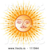 March 24th, 2018: Vector of Sinhalese New Year Sun by Lal Perera