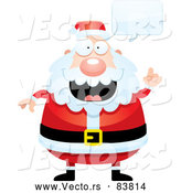 Vector of Talking Santa Claus by Cory Thoman