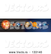 Vector of the Planets of the Solar System by AtStockIllustration