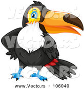 April 30th, 2018: Vector of Toucan Bird by Graphics RF