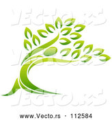 Vector of Tree by AtStockIllustration