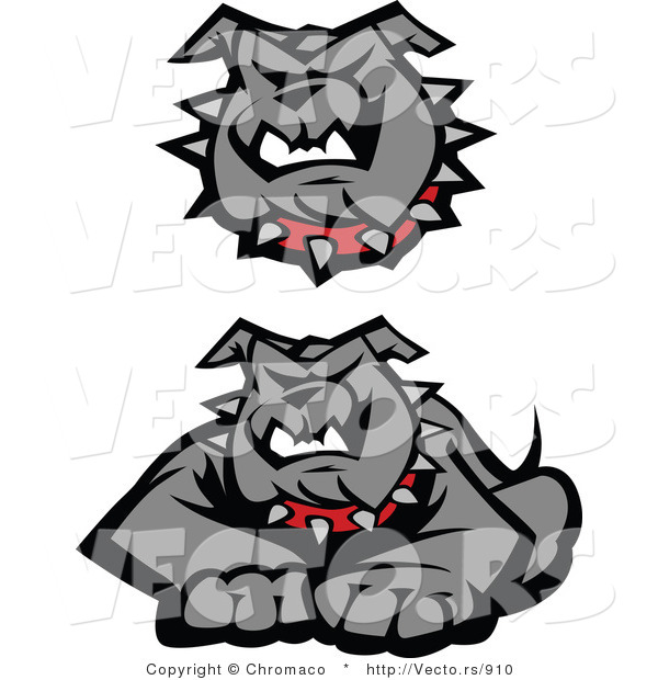 Vector of 2 Unique Bulldog Designs